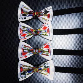 """Галстук-бабочка """"Игральная карта: Валет"""" (на выбор)"""