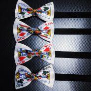 """Галстук-бабочка """"Игральная карта: Король"""" (на выбор)"""