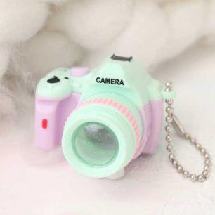 Фотоаппарат CAMERA мятная