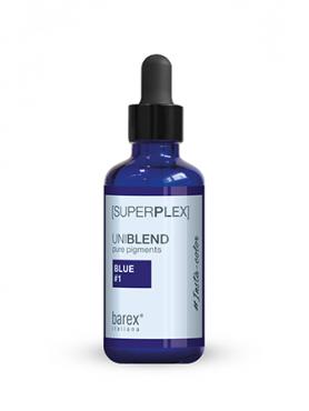 Barex SUPERPLEX Uniblend Pure Pigments Концент-ые пигменты для прямого окраш-я Blue #1 New