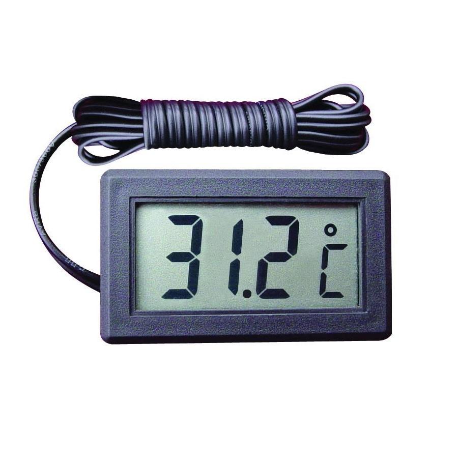 Цифровой термометр со щупом на проводе Digital Thermometer