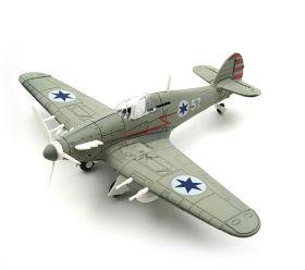 Сборная модель самолета Хоукер «Харрикейн» 1:48 ВВС Израиля