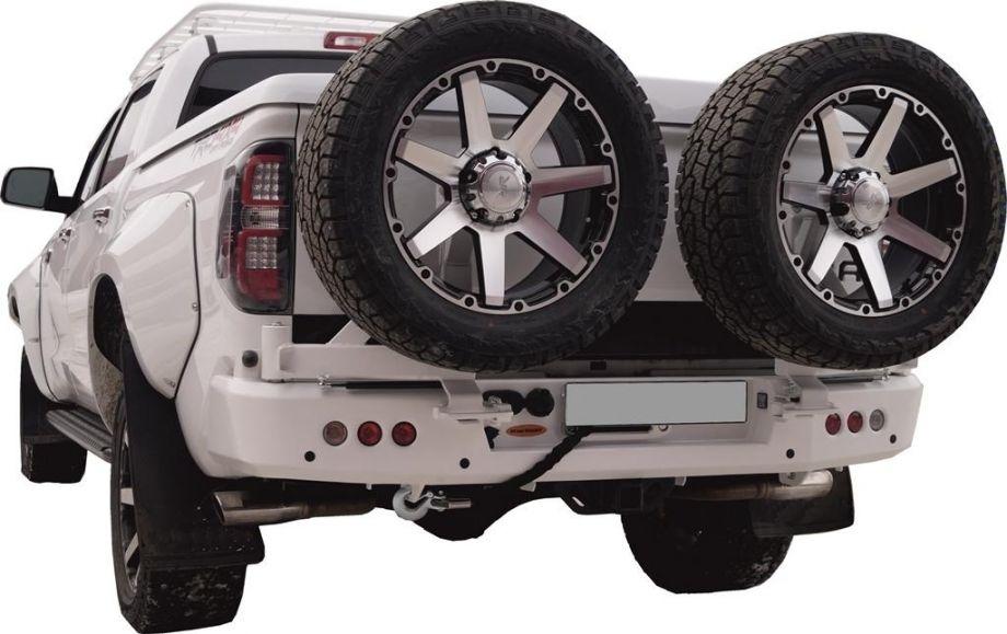 Задний силовой бампер VZD Тойота Тундра 2014+ Toyota Tundra