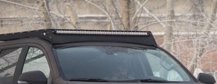 Багажник экспедиционный Тойота Тундра Дабл Каб 2007-2013/ 2014+ с дальним светом