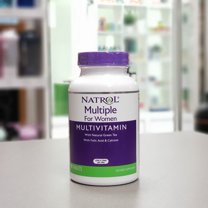 Natrol - Multiple for Women Multivitamin (90 таб)