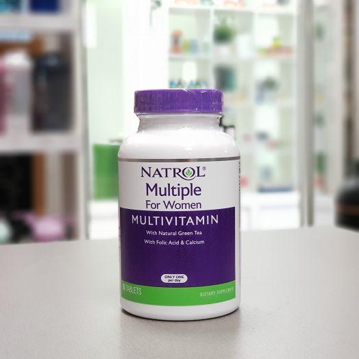 Natrol - Multiple for Women Multivitamin (90 таб)