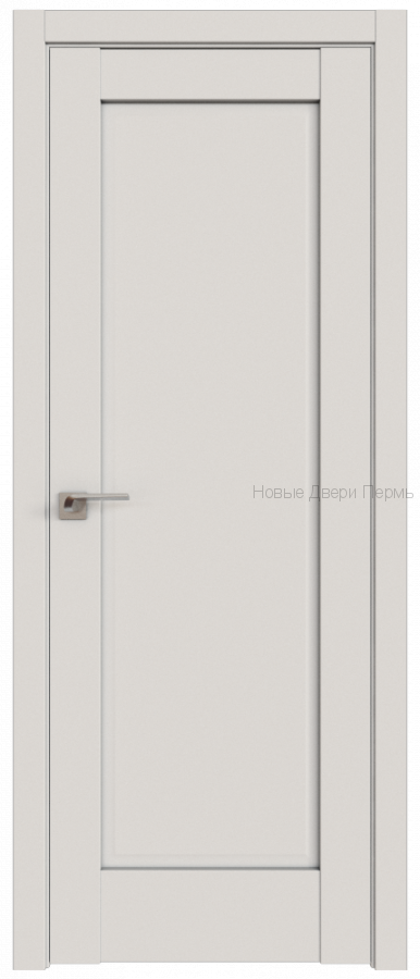 100U ДАРК ВАЙТ глухое - PROFIL DOORS межкомнатные двери