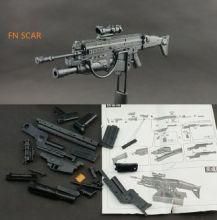 Сборная модель Штурмовая винтовка FN SCAR 1:6