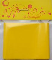 Фольга для дизайна ногтей, литья (переводная). Цвет: матовая желтая (Размер: 4см на 1 метр)