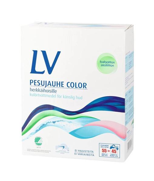 LV color стиральный микропорошок 750 гр
