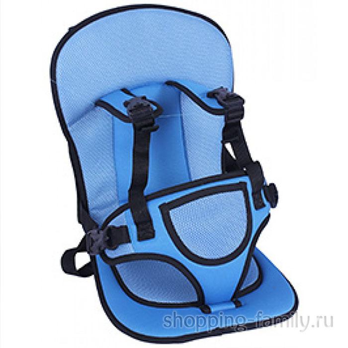 Детское автокресло Multi Function Car Cushion, цвет голубой