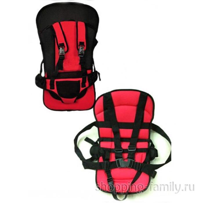 Детское автокресло Multi Function Car Cushion, цвет красный