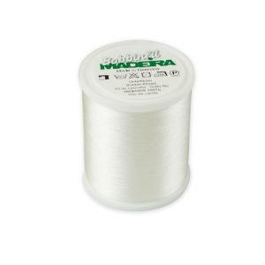 Нижняя нить Madeira Bobbinfil № 60 (белый)  - 1000м