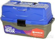 Ящик рыболовный Nisus Tackle Box трехполочный N-TB-3-B