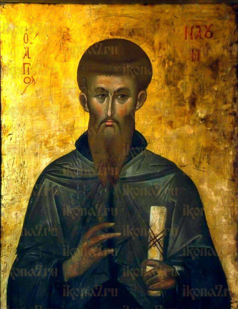 Икона Наум Охридский равноапостольный
