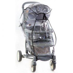 Дождевик для прогулочной коляски полиэтилен