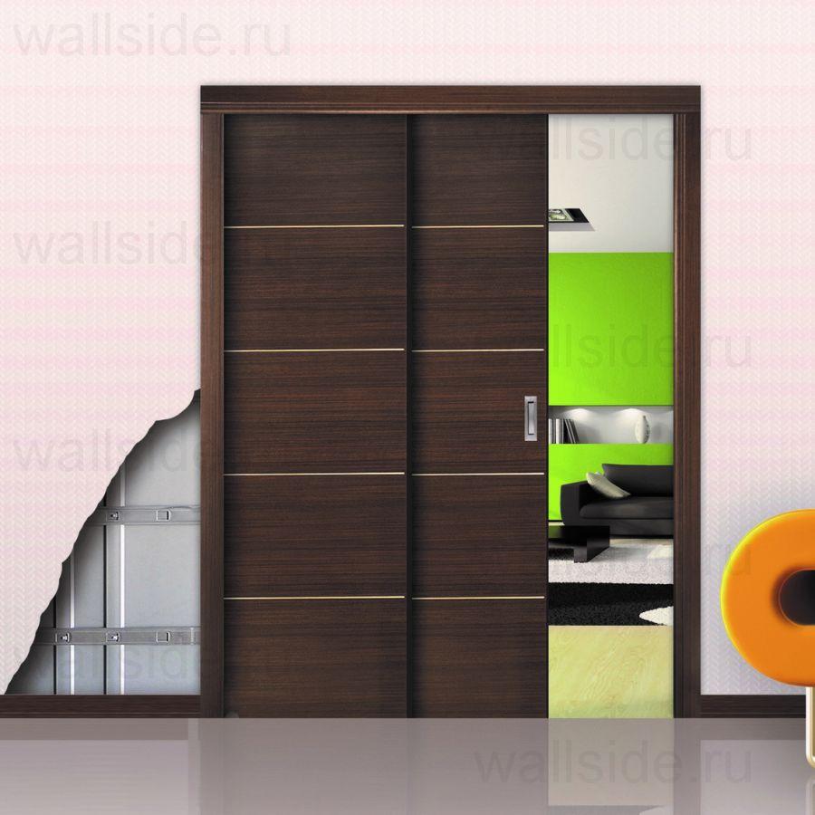 Пенал OpenSpace Paralelo для двух дверей высотой 2100 мм