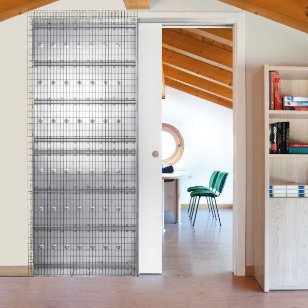 Пенал Eclisse Unico Single для дверей 2000 мм, 108 мм под штукатурку