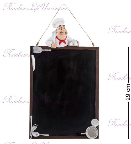 "Доска - меню Повар с ложкой ""W.Stratford"""