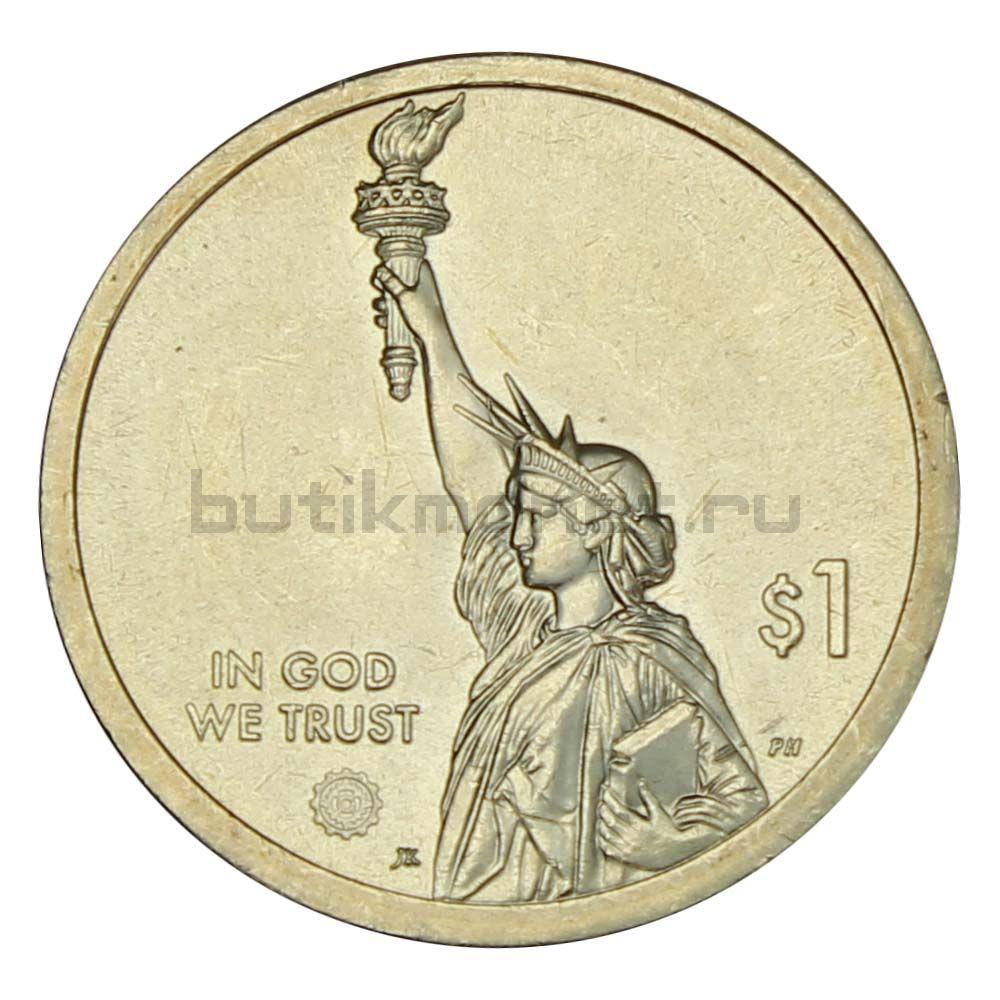 1 доллар 2019 США Энни Джамп Кэннон (Американские инновации)
