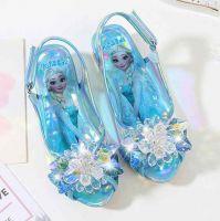 Туфли босоножки Эльзы из мультфильма  Холодное сердце 17 см купить