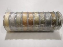 Spark Beads Нить для бисера TYTAN 100 микс бежево-серый
