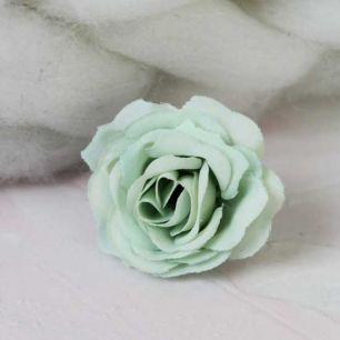 Цветок 2 см - тканевый Мятный