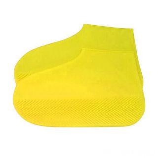 Водонепроницаемые защитные чехлы для обуви, размер L, Жёлтый