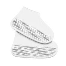 Водонепроницаемые защитные чехлы для обуви, размер S, Белый