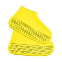 Водонепроницаемые защитные чехлы для обуви, размер S, Жёлтый