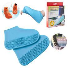 Водонепроницаемые защитные чехлы для обуви, размер M, Синий