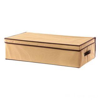 Складной кофр с жёстким каркасом для хранения вещей, 45х30х20 см