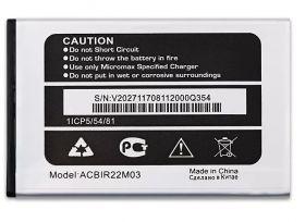 Аккумулятор Micromax Q354 батарея для Micromax Q354 ACBIR22M03