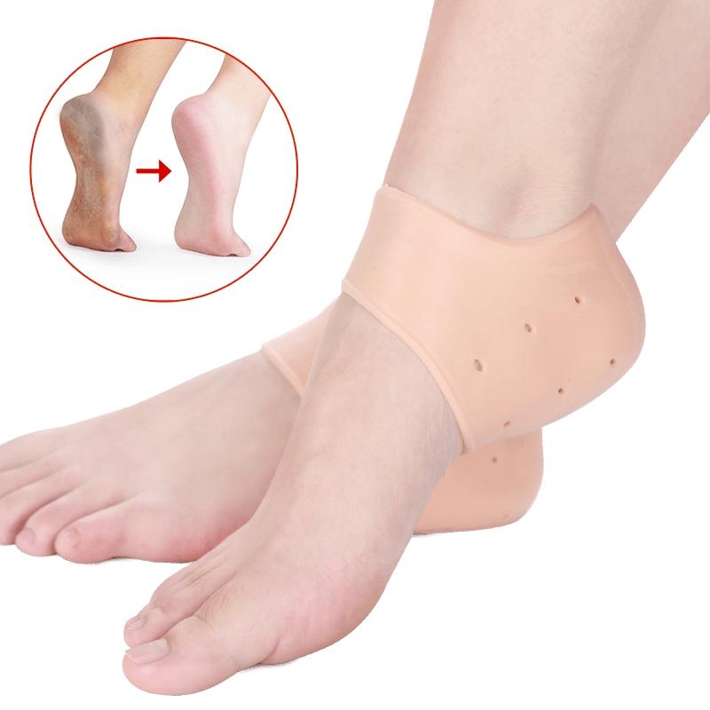 Силиконовые протекторы пятки Heel Anti-Crack Sets