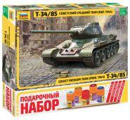 """3687ПН Советский средний танк """"Т-34/85"""" (обр.1944г.)"""