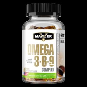 Omega 3-6-9 Complex от Maxler 90 кап