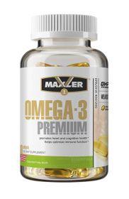 Omega-3 Premium от Maxler (60 гель кап)