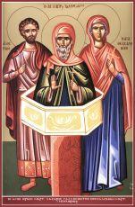 Икона Лазарь Галисийский преподобной