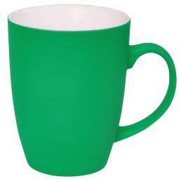 зеленые кружки с Soft Touch покрытием