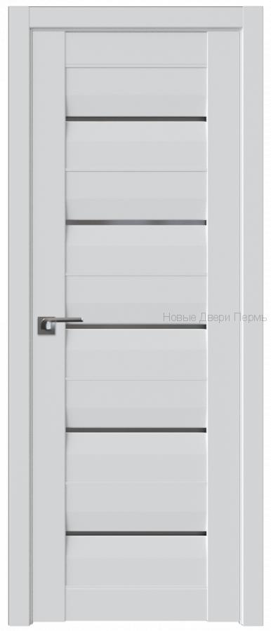 48U АЛЯСКА стекло Графит - PROFIL DOORS межкомнатные двери