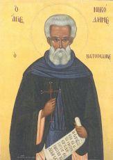 Икона Никодим Ватопедский преподобный