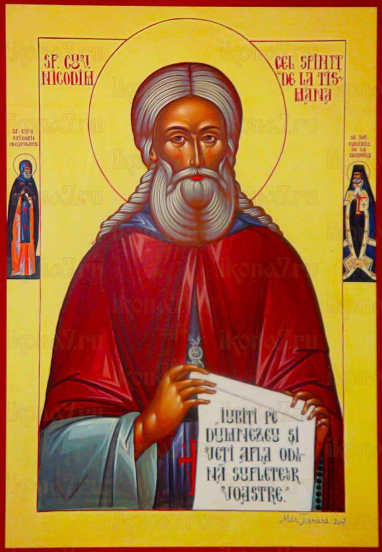 Икона Никодим Тисманский преподобный