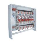 Узлы для горизонтальных систем отопления и водоснабжения