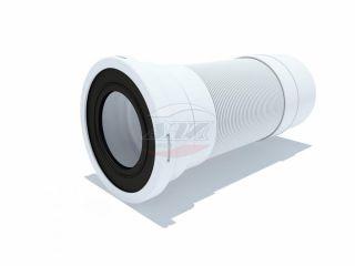 Удлинитель гибкий для унитаза выпуск 110мм (310-840мм)
