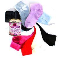 Женские носки в банке 36-42  KN011