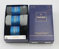 Люкс носки мужские в коробке + МЫЛО в подарок №AF182