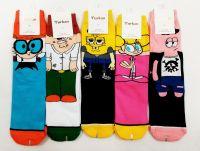 "Люкс носки женские ""Simpsons"" 36-42 № 140805"