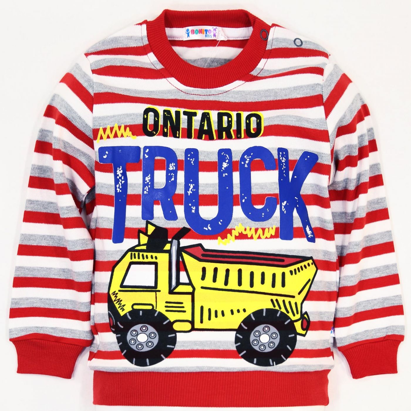 "Джемпер в полоску Bonito kids ""Truck """