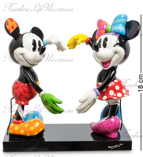 "Фигурка Микки и Минни Маус ""Disney. Britto"""