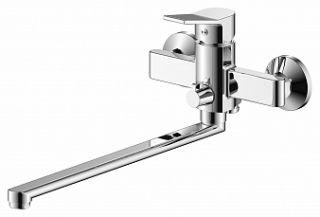 Смеситель для ванны и умывальника JASON, d-35, керамбукса, L-обр. излив 320 мм,